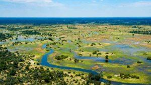 Пейзажи в Ботсвана