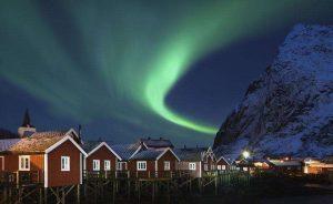 Северното сияние в Норвегия