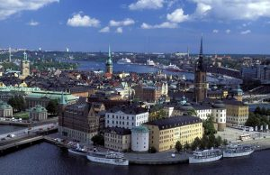 Столицата на Стокхолм