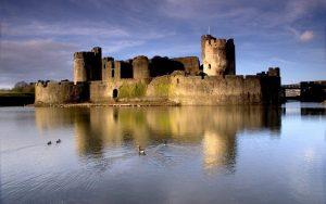 Замъци в Уелс