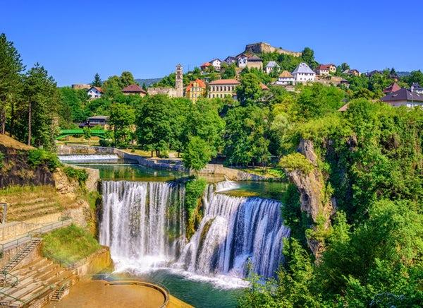 Водопад Скока, град Клисура