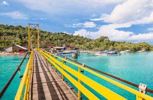 Синята лагуна в Ямайка
